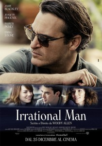 irrational man poster italiano