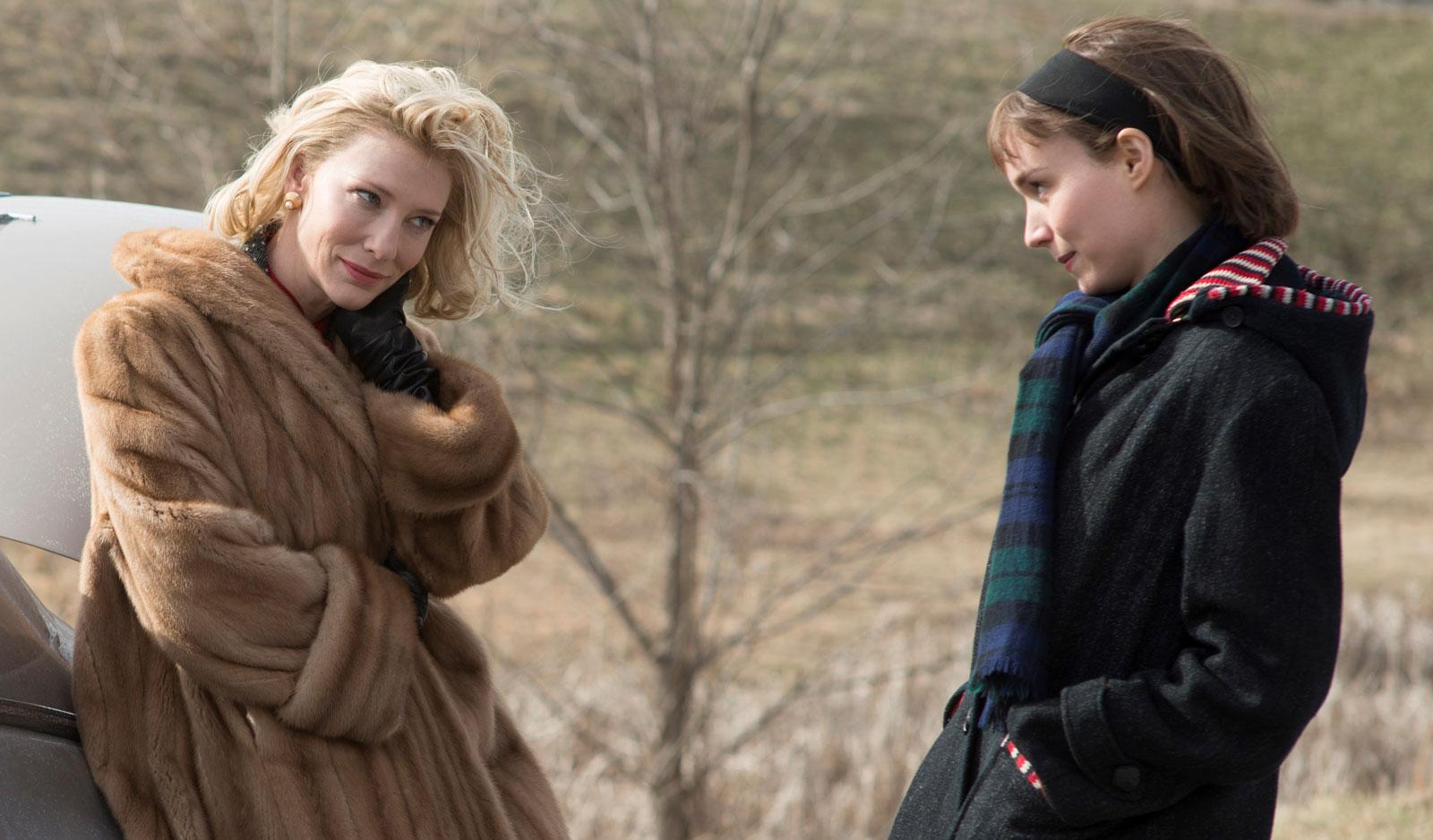 Carol, le pieghe dell'amore saffico