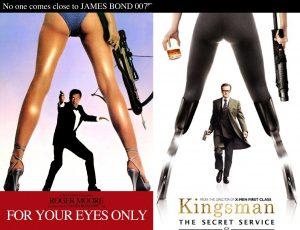 kingsman confronto 007
