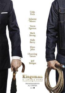 kingsman il cerchio d'oro poster
