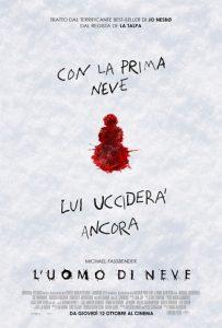 l'uomo di neve poster