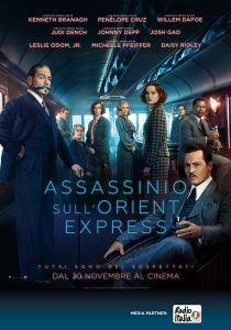 assassinio sull'orient express poster