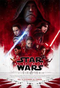 star wars gli ultimi jedi poster