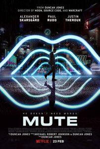 Mute Netflix poster vero cinema