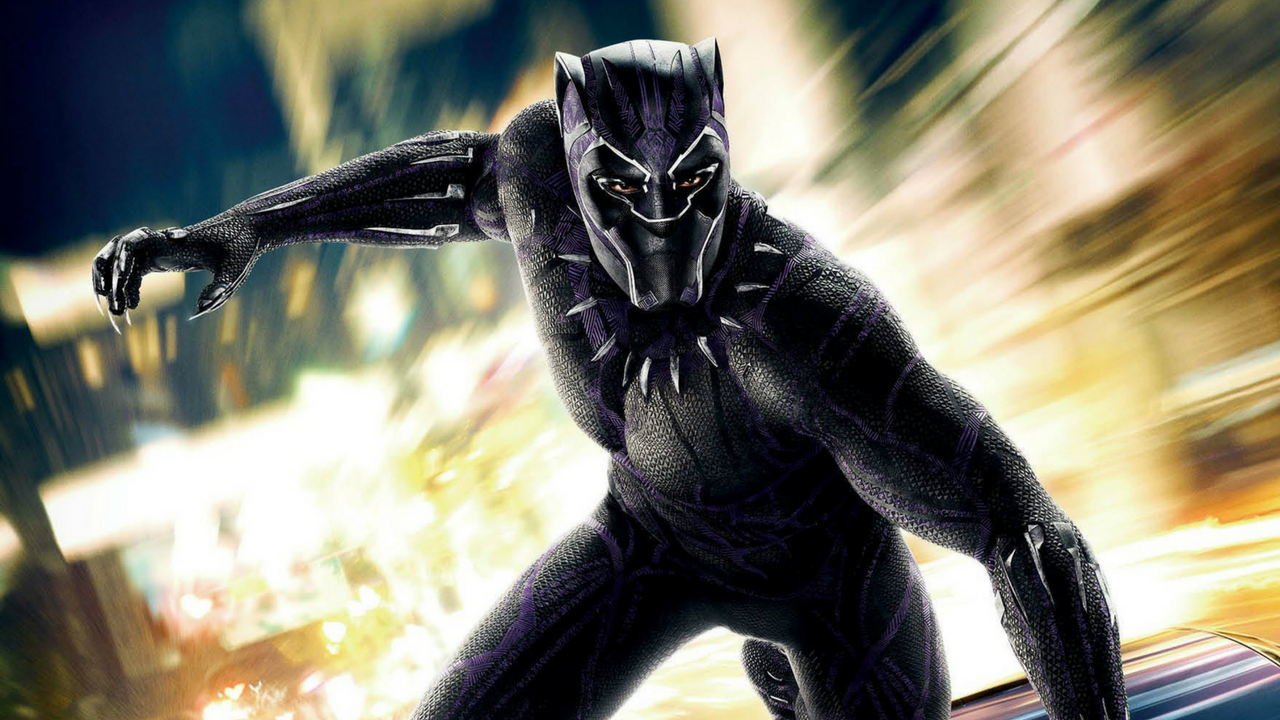 Un gattino domestico di nome Black Panther