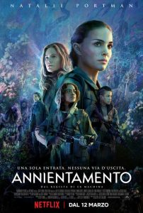 annientamento vero cinema