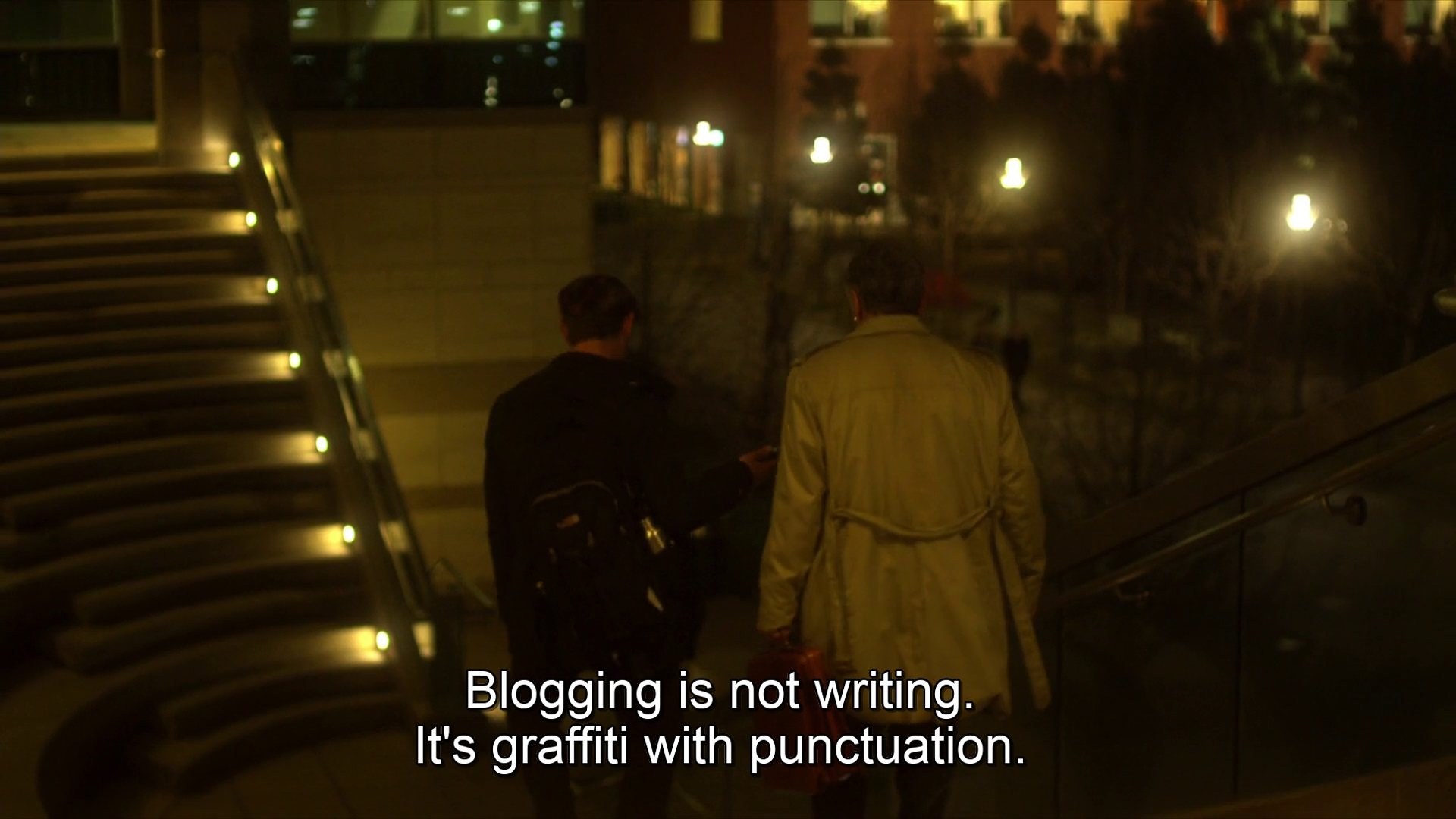 contagion soderbergh blogging quote