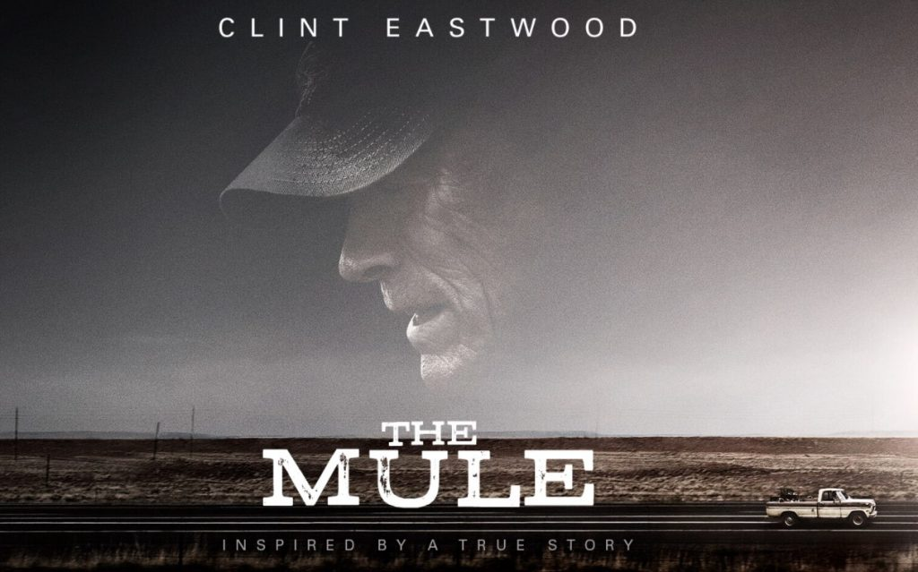 the mule eastwood banner quad poster