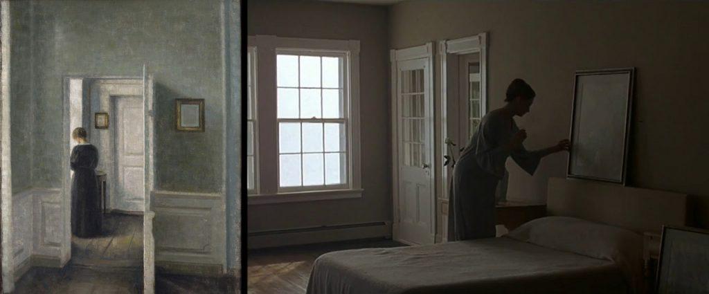 Woody allen interiors bergman influenza