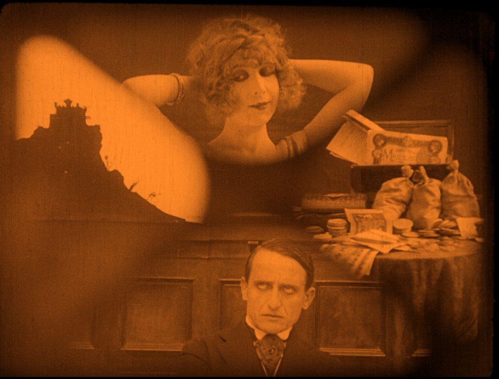 La tempesta in un cranio Campogalliani Giornate del cinema muto