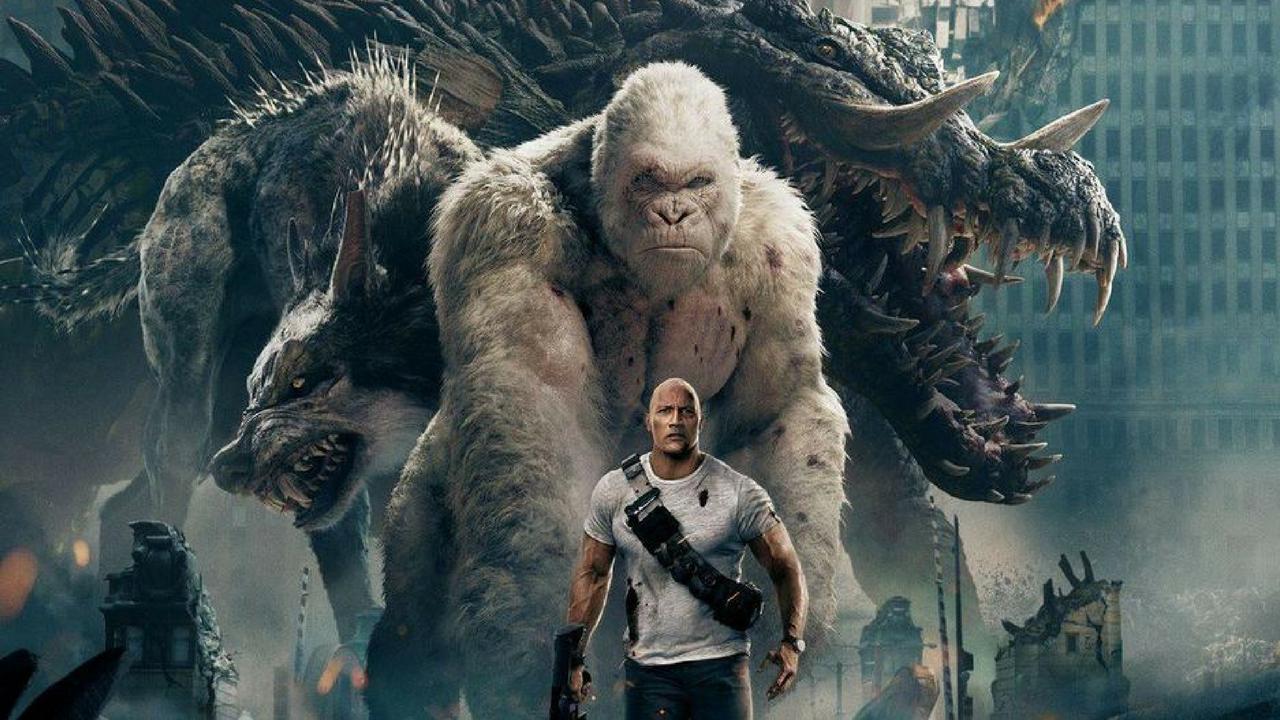 Rampage – Furia Animale, The Rock contro tutto e tutti