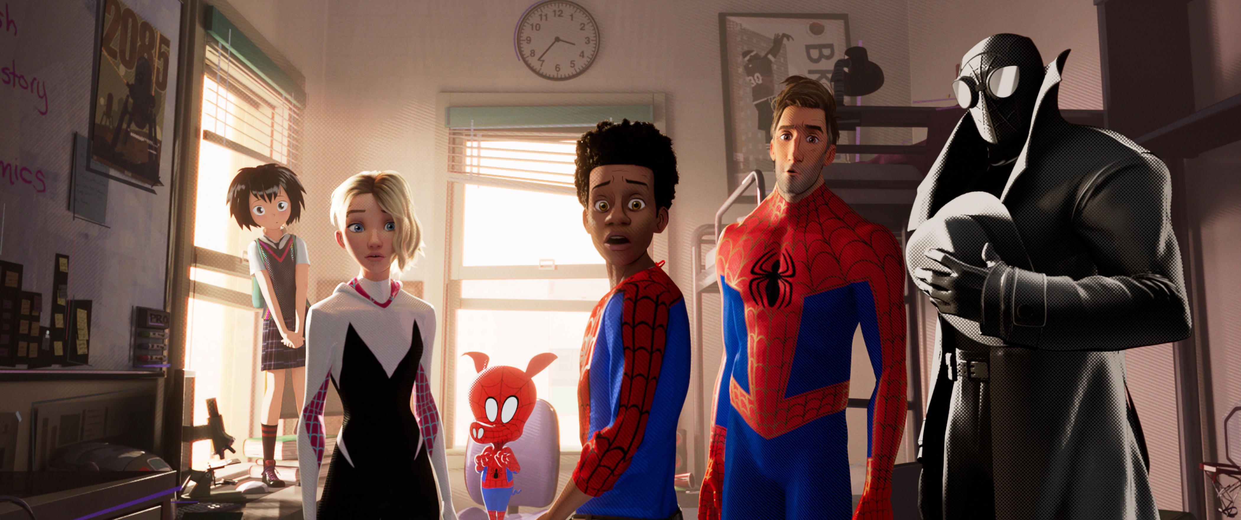 La grande lezione di Spider-Man: Un nuovo Universo