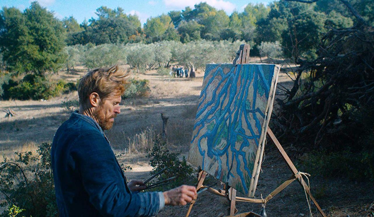 Willem Dafoe Van Gogh recensione film