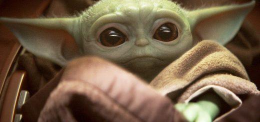 Baby Yoda action figure